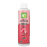 4Me Nutrition L-Carnitine + Guarana ATTACK 3600 500 мл