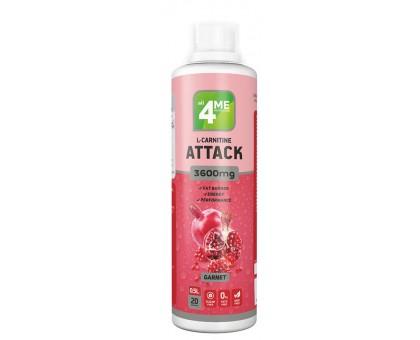 4Me Nutrition L-Carnitine + Guarana ATTACK 3600 500 мл