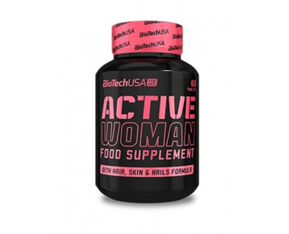 BiotechUSA Active Women 60 tab
