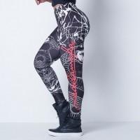 LabellaMafia Fitness Printed Snake Legging