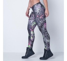 LabellaMafia Fitness Surfer Mandala Legging