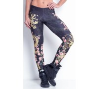 LabellaMafia Legging Dragon And Roses