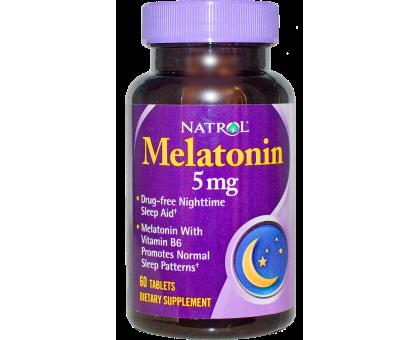 Natrol Melatonin 5 мг 60 tab