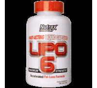 Nutrex Lipo 6 120 Caps