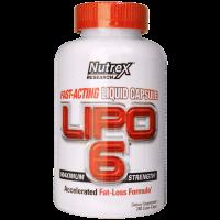 Nutrex Lipo 6 120 Caps (срок до 11.17)