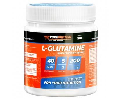 Pure Protein L-Glutamine 200gr