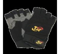 Перчатки мужcкие черно-серые