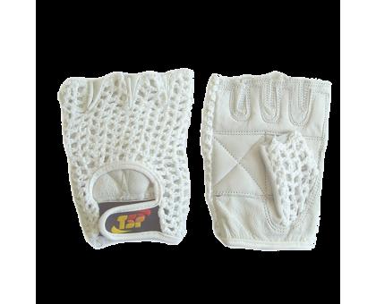 Перчатки для фитнеса женские (белые)