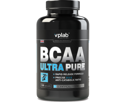 VPLab BCAA Ultra Pure 120 caps