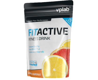 VPLab FitActive Fitness Drink 500 гр (срок 11.17)