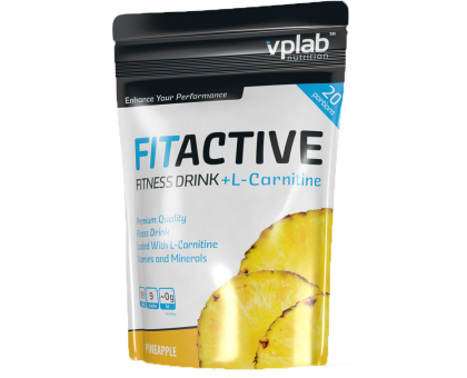 VPLab FitActive L-Carnitine Fitness Drink 500 гр.