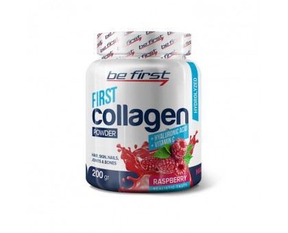 Be First Collagen + Hyaluronic acid + Vitamin C 200 гр