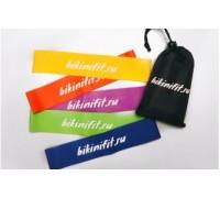Bikinifit фитнес-резинки (5 штук) 25*5см