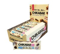 CHIKALAB Батончик глазированный с начинкой Chikabar 60 гр