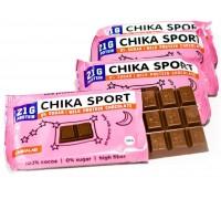 CHIKALAB Шоколад протеиновый молочный 100 гр