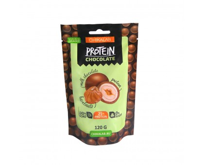 Chikalab Драже Фундук в шоколаде 120 гр