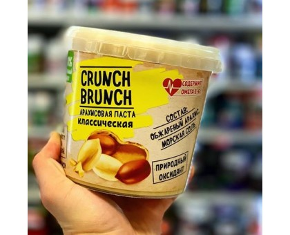 CRUNCH-BRUNCH арахисовая паста 1000g