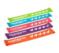 Atletika24 Фитнес-резинки Mini Bands (5 штук) 25*5 см