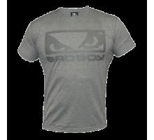 Футболка Bad Boy Eyes Tee Shirt - Grey Marl