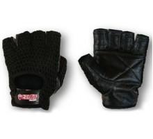 Grizzly Перчатки черные с сеткой