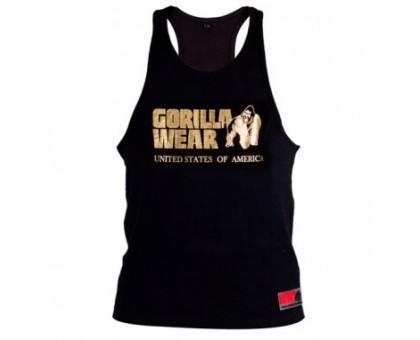 GORILLA WEAR майка CLASSIC черная с золотым