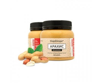 DopDrops Арахисовая Протеиновая Паста 250г (без вкус. добавок)