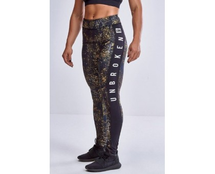 LabellaMafia Yellow War Cross Training Legging