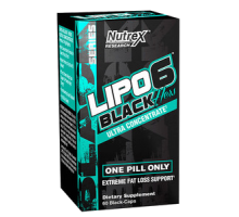 Nutrex Lipo-6 Black Hers Ultra Concentrate 60 caps