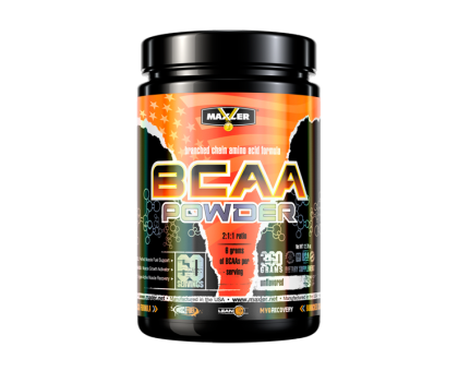 Maxler BCAA Powder 360 гр Без вкуса