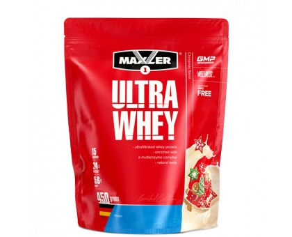 Maxler Ultra Whey Christmas 450 гр