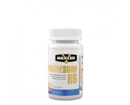 Maxler Magnesium B6 60 таб