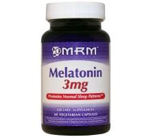 MRM Melatonin 3 мг 60капс