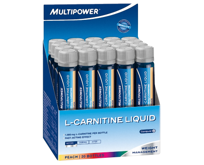 Multipower L-Carnitine Liquid 1800 мг 1шт*25мл