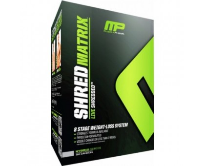 MusclePharm Shred Matrix 120 caps