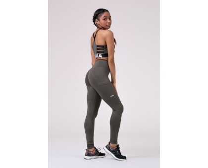 Nebbia Леггинсы High waist Fit&Smart leggings сафари