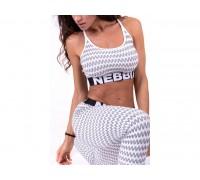 NEBBIA топ Boho Style 3D pattern mini top