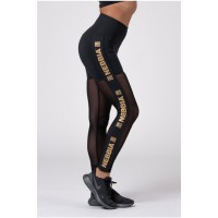 NEBBIA Леггинсы Gold Mesh leggings