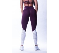 NEBBIA леггинсы High waist 'Ns' leggings