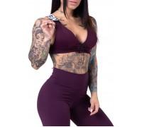 NEBBIA топ Lace-up sport bra