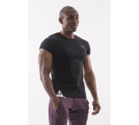 NEBBIA Футболка Muscle Back T-shirt черная