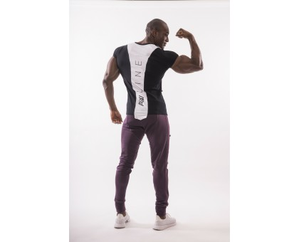 NEBBIA Футболка Muscle Back T-shirt черная