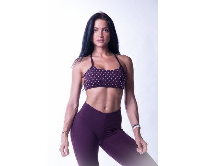 NEBBIA топ 'Ns' fitness bra