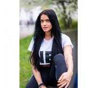 NEBBIA футболка женская Crop Top белая