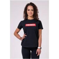 NEBBIA Футболка NEBBIA x Womens T-Shirt черная
