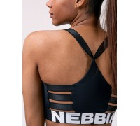 Nebbia Lift Hero Sports mini top черный