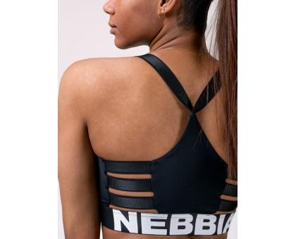 Nebbia Lift Hero Sports mini top черный
