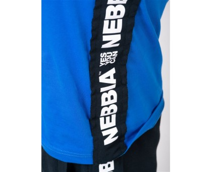 NEBBIA Майка Singlet 'Your potential is endless.' синяя