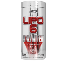 Nutrex Lipo-6 INTL Unlimited 120 caps