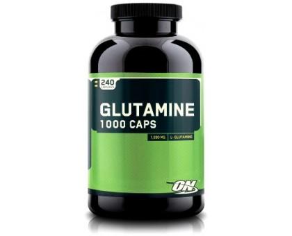 Optimum Nutrition Glutamine 1000 mg 240 капс