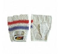 Перчатки для фитнеса женские триколор